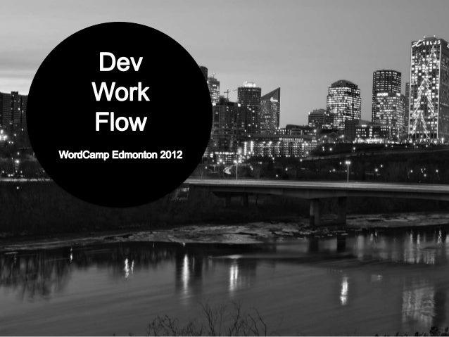 Dev Work Flow