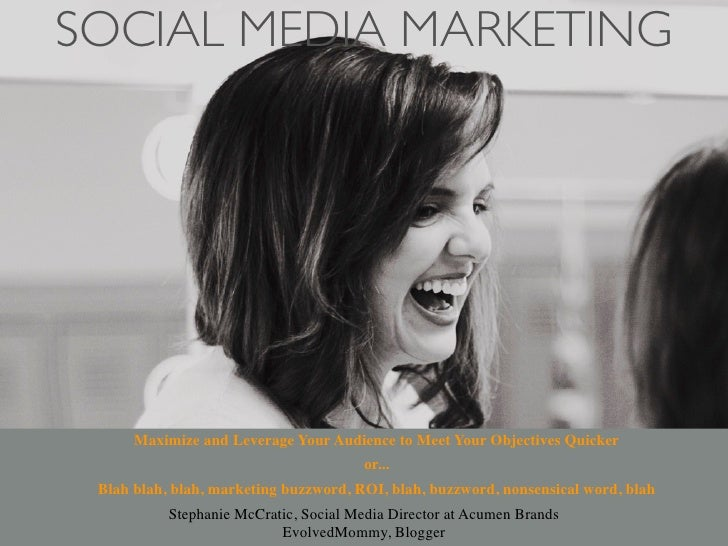 Social Media Marketing by Stephanie McCratic, WordCamp Fayetteville