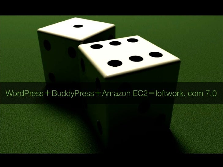 WordPress+BuddyPress+AmazonEC2=loftwork7.0