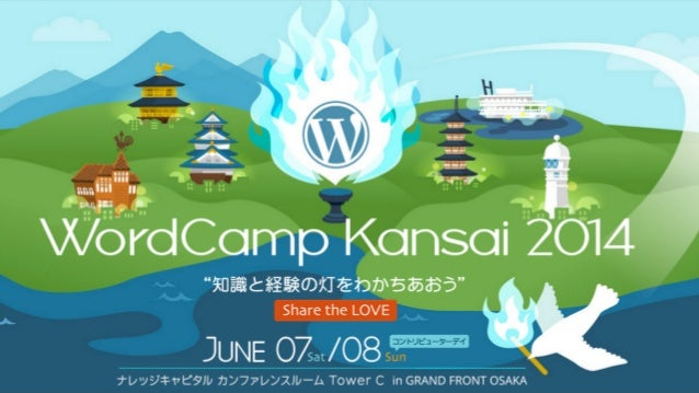 WordCamp Kansai 2014_All we really need to know we have learned from wordpress.