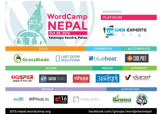 WordPress For Beginners - WordCamp Nepal 2013