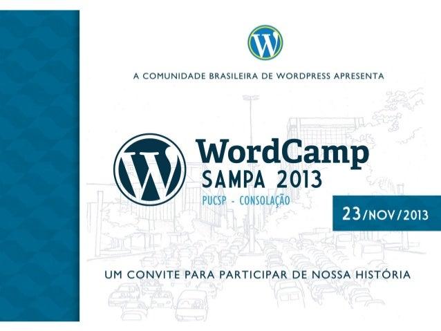 WordCamp Sampa 2013