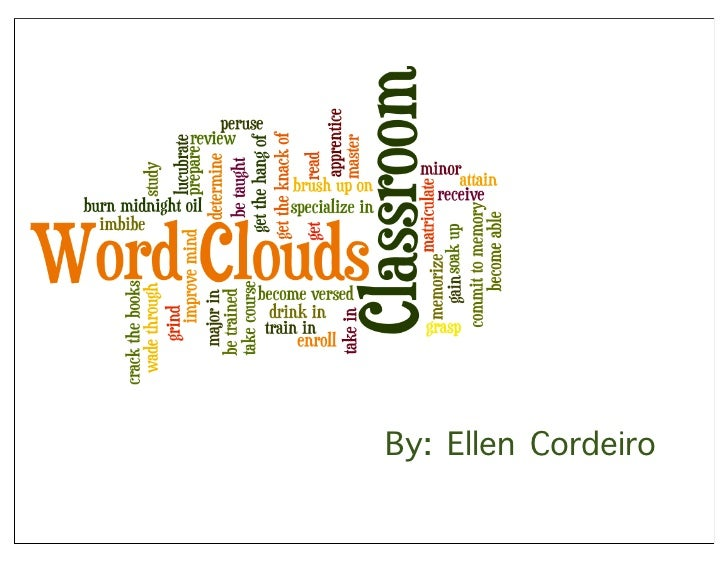 Word Clouds in the Classroom
