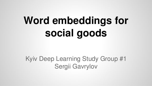 How to Develop Word Embeddings in Python with Gensim