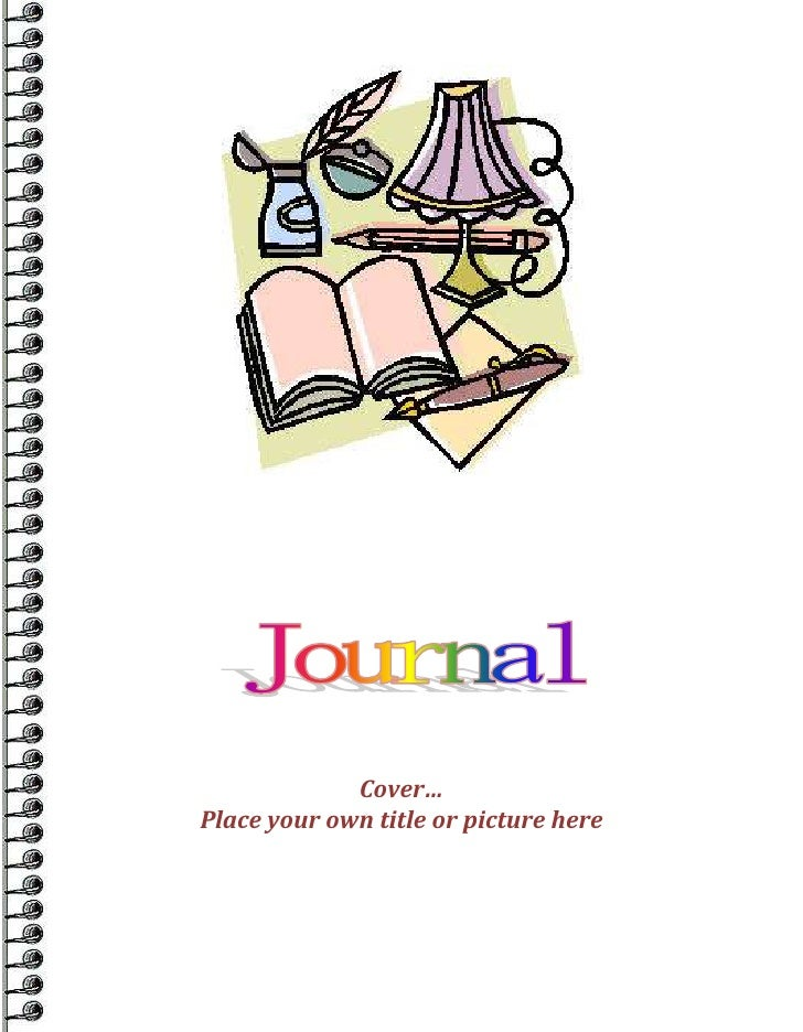Word Journal Or Diary Tempate
