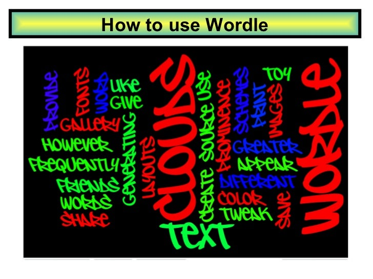 How to use Wordle