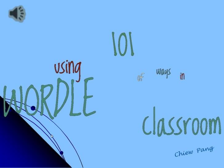 Wordle: Your imagination's the limit!