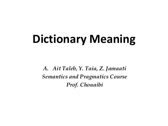Dissertation Meaning Of The Word
