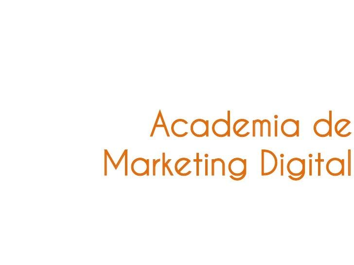 Academia deMarketing Digital