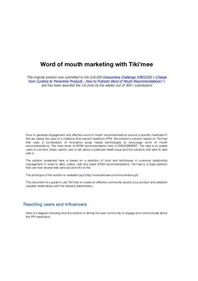 Nicolas Zumino – Tiki'labs International Business DeveloperWord of mouth marketing with Tiki'meeThis original solution was...