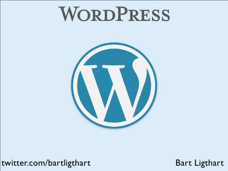 Wordpress what?