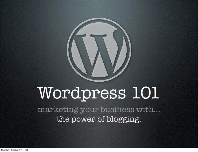 Wordpress 3hr-course