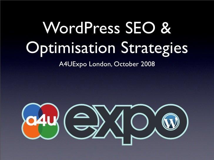 SEO Social Blog:  Wordpress SEO with Joost de Valk