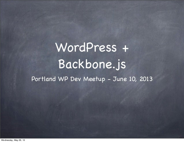 Wordpress bb-portland