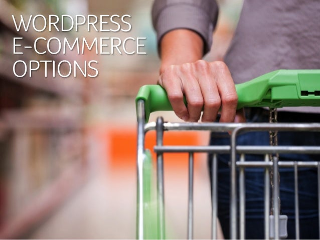 WordPress e-Commerce Options