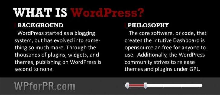 WordPress for Public Relations