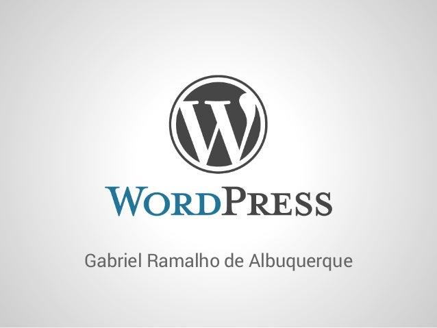 Gabriel Ramalho de Albuquerque