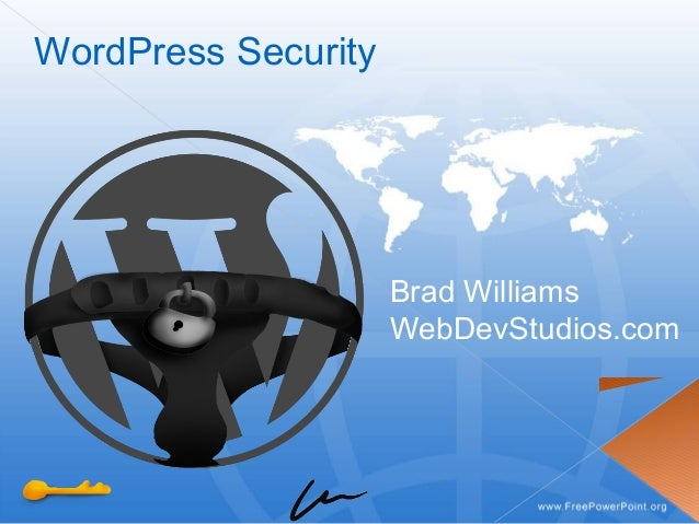 WordPress Security Brad Williams WebDevStudios.com