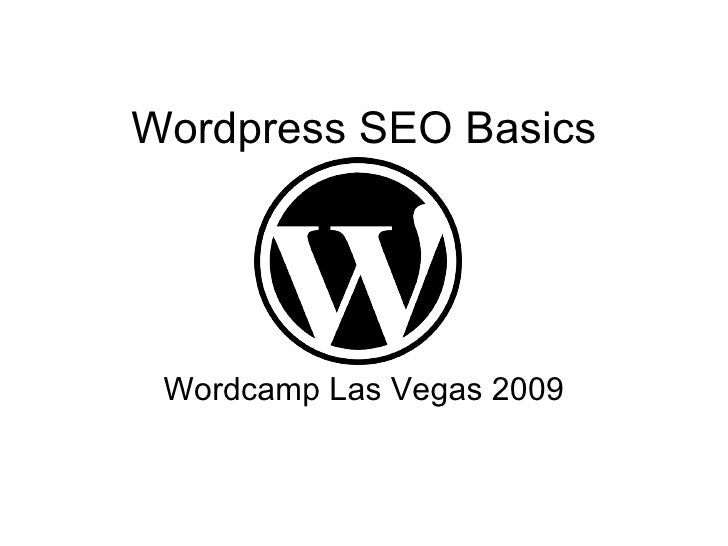 Wordpress SEO Wordcamp LV 2009