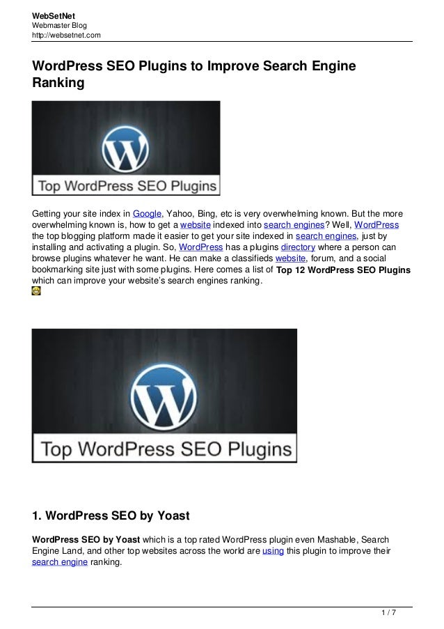 Wordpress seo-plugins-to-improve-search-engine-ranking