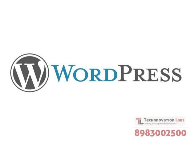 Wordpress Training in Pune by Technnovation Labs