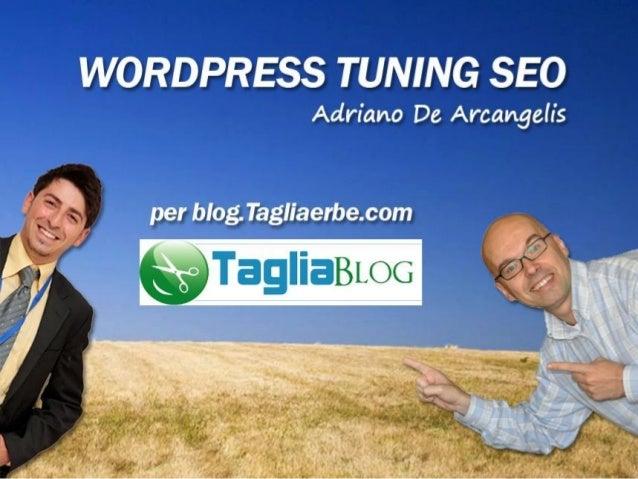 Wordpress Tuning SEO
