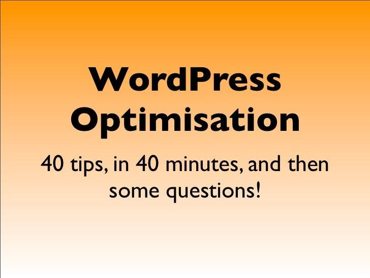 LAC 2011-WordPress Advanced