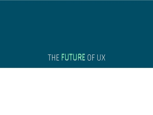 WordPress and the Future of UX