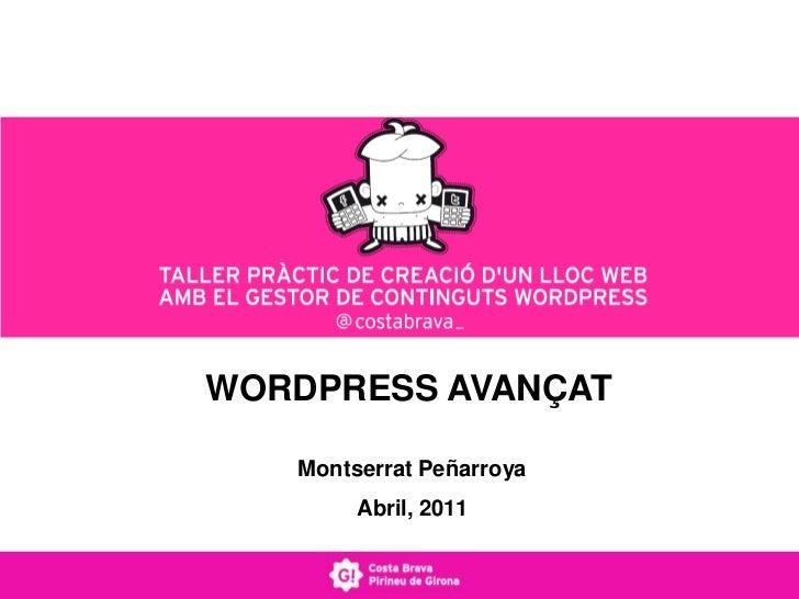 Wordpress avançat