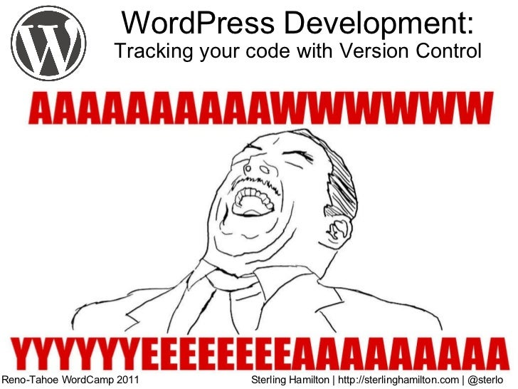 WordPress Development: Tracking Your Code With Version Control