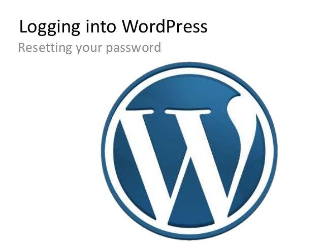 Wordpress intro
