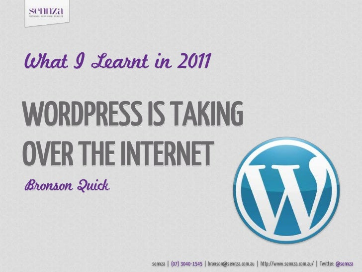 WordPress Is Taking Over The Internet