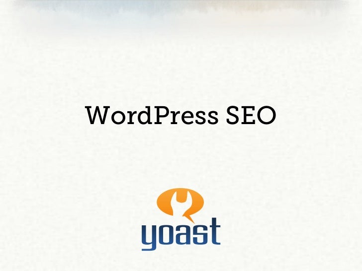Wordpress SEO - Yoast