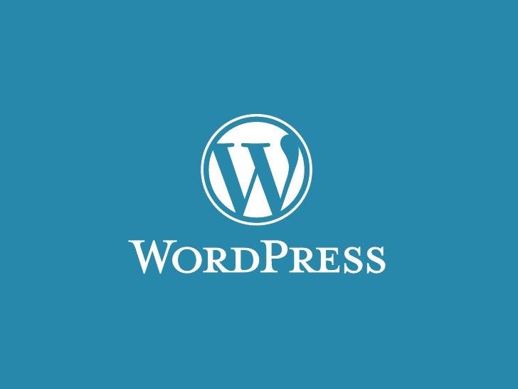 WordPress Workshop         © Takayuki Miyoshi 2010.02