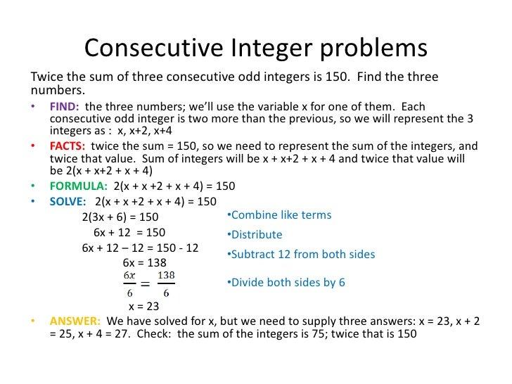 Number Names Worksheets » Algebra Word Problems Worksheet - Free ...