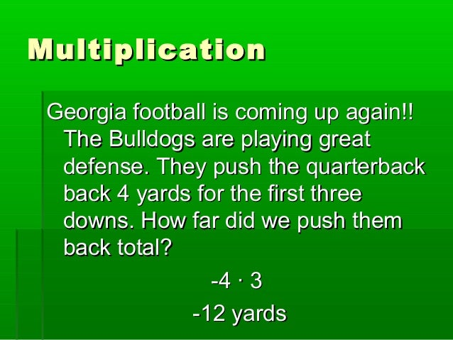 Solving Multiplication Word Problems
