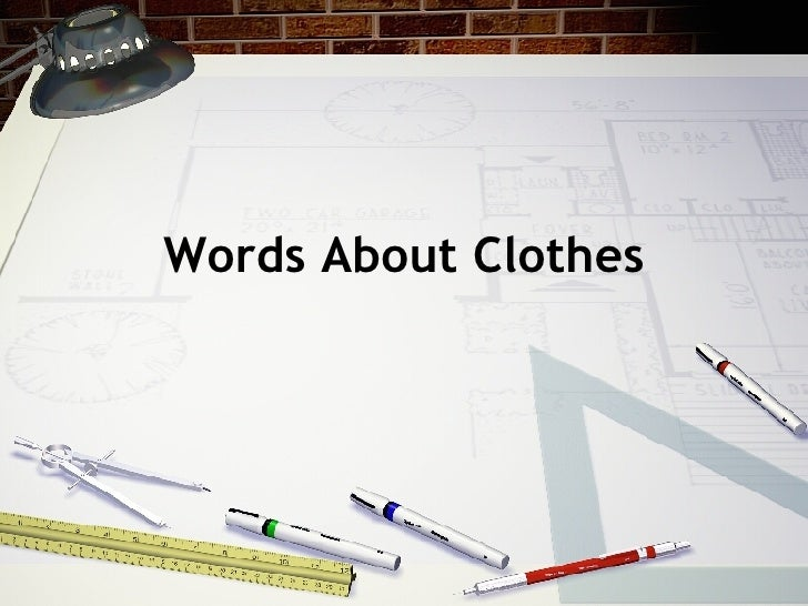 Words About Clothes