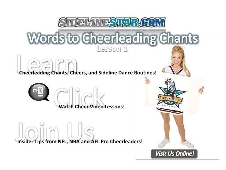 Cheerleading Chants Cheers