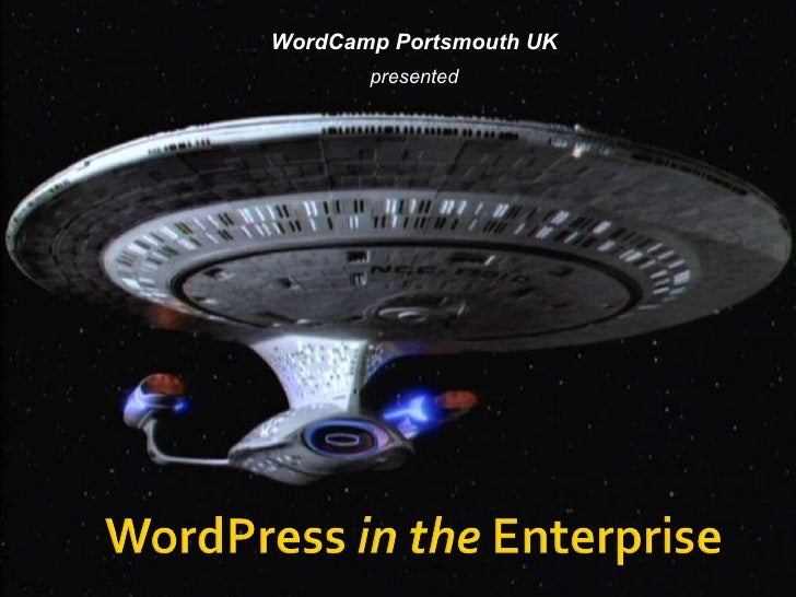 WordCamp Portsmouth UK presented