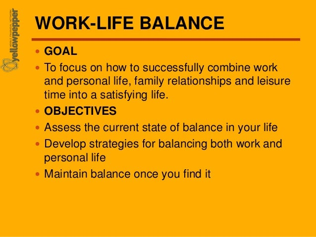 Work Family Balance Quotes Work-life Balance Goal to