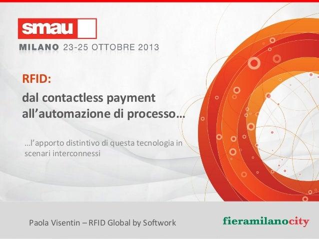 SMAU Milano 2013: work shop RFID Global by Softwork