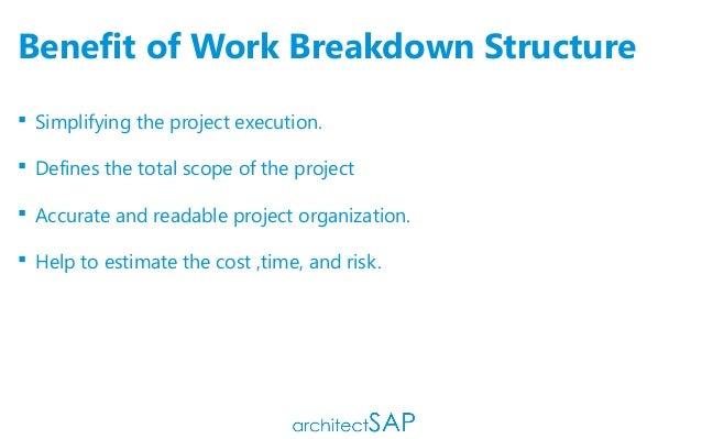importance of work breakdown structure pdf