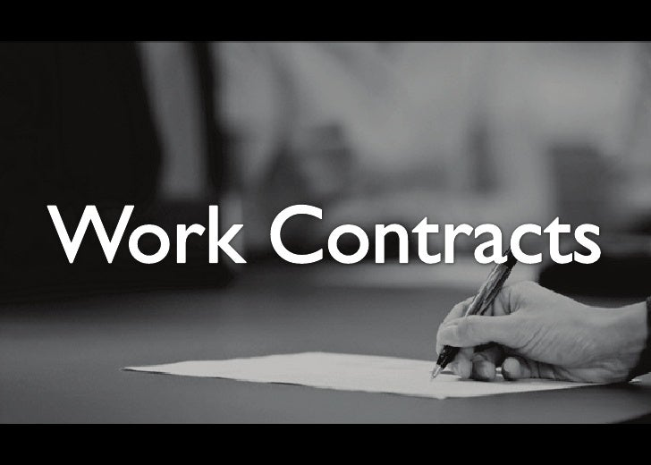 Work Contracts