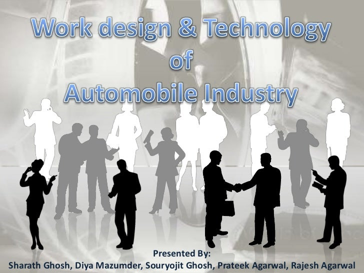 Work design and technology