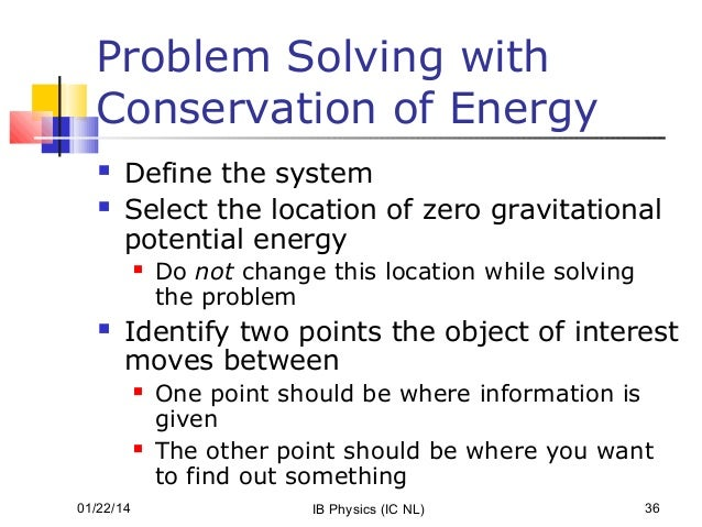 How to solve work problems in physics