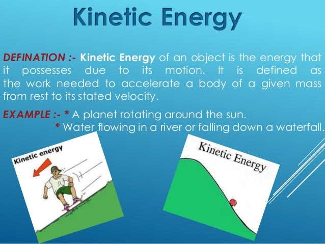 kinetic energy definition gallery