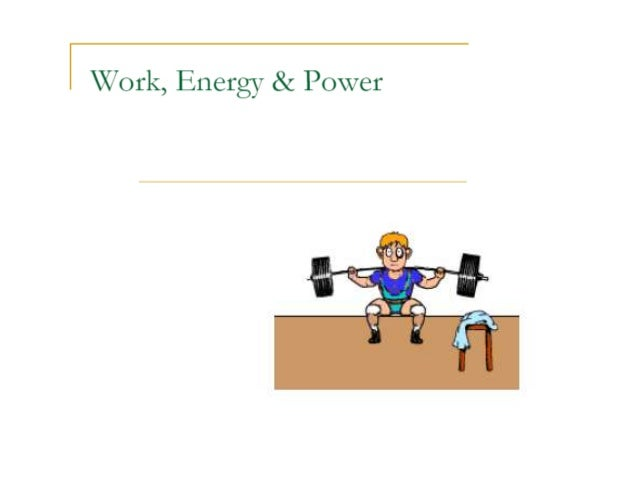 Work energy power 2 reading assignment -revision 2 physics