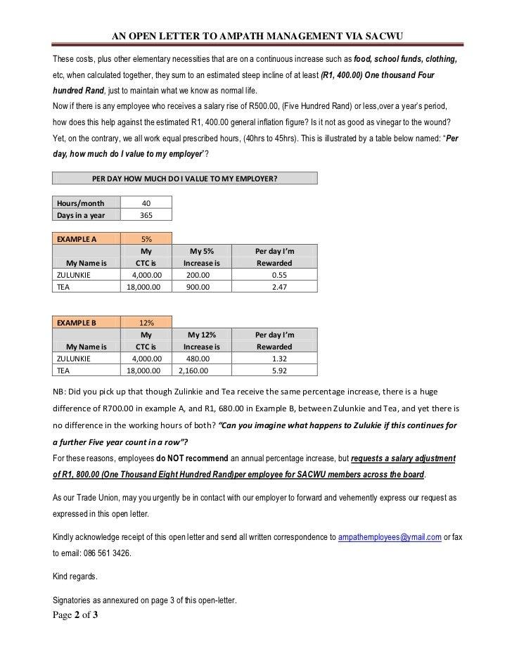 Salary Adjustment Letter Pdf Letter Lease Agreement Template Rent – Salary Adjustment Template