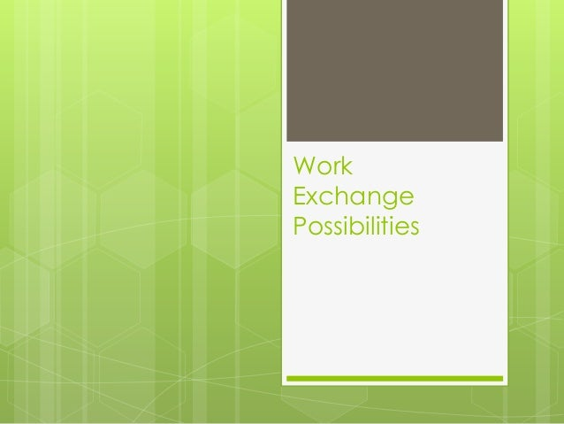 Work Exchange Possibilities