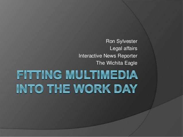Making multimedia part of the work day
